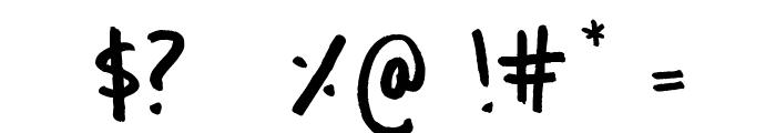 Culita Font OTHER CHARS
