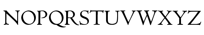 Cullen Font UPPERCASE