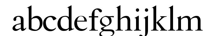 Cullen Font LOWERCASE