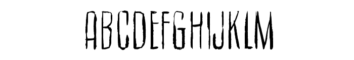 Cult of the toucan Font UPPERCASE