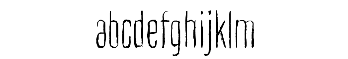 Cult of the toucan Font LOWERCASE