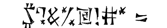Cuneiforme Font OTHER CHARS