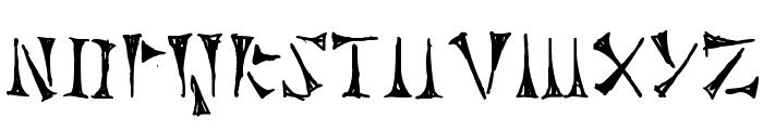 Cuneiforme Font LOWERCASE