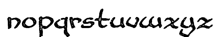 Cup and Talon Font LOWERCASE