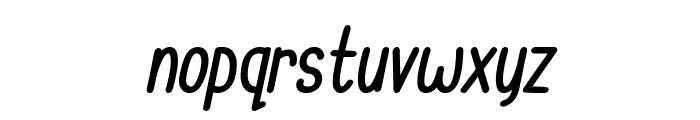 Cupcake Smiles Bold Italic Font LOWERCASE
