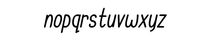 Cupcake Smiles Italic Font LOWERCASE