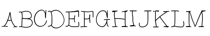 CupcakeFont Font UPPERCASE