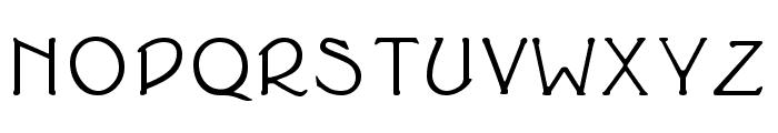 Cupola Bold Font UPPERCASE