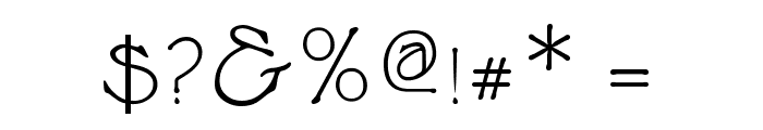 Cupola SmallCaps Font OTHER CHARS