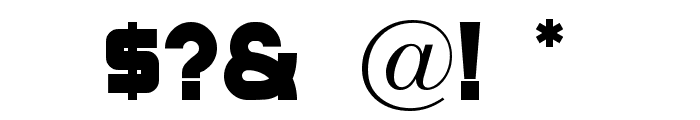 CuppaJoe Font OTHER CHARS