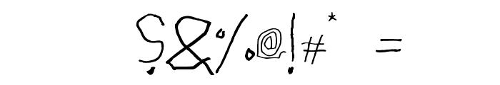 Cupper ReversedRegular Font OTHER CHARS