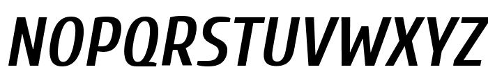 Cuprum Bold Italic Font UPPERCASE