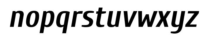 Cuprum Bold Italic Font LOWERCASE