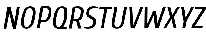 Cuprum Italic Font UPPERCASE