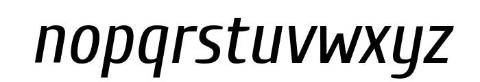 Cuprum Italic Font LOWERCASE