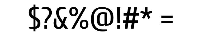Cuprum Regular Font OTHER CHARS
