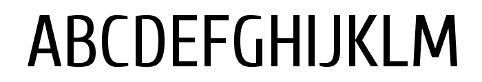 CuprumFFU Font UPPERCASE