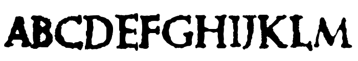 Cure- Picture Show Font UPPERCASE