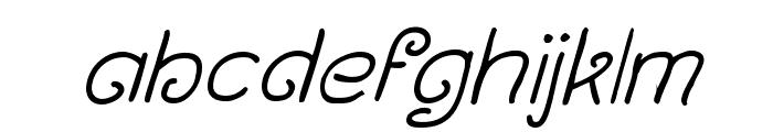 Curlmudgeon Italic Font LOWERCASE