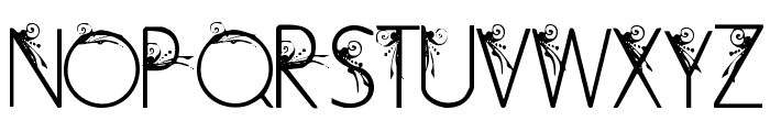 Curly Fleur Caps Font UPPERCASE