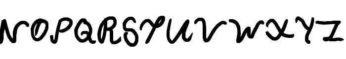 Curly Wurly Font UPPERCASE