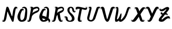 CurlySimplePerfect Font UPPERCASE