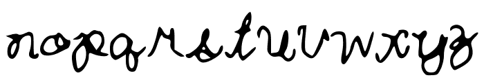 Curlytint_Font Font LOWERCASE