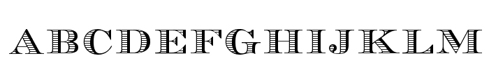 Currency Font LOWERCASE