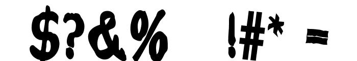 Current-Black Font OTHER CHARS