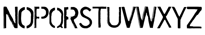 Cursed Mustache Font UPPERCASE