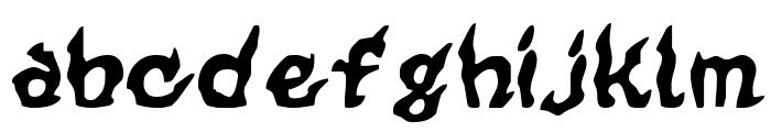 CursedKuerbis Font LOWERCASE