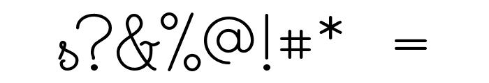 Cursivestandard Font OTHER CHARS
