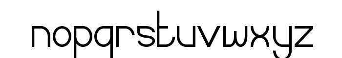 Curvada Font LOWERCASE