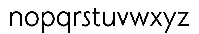 Curwen Sans Font LOWERCASE