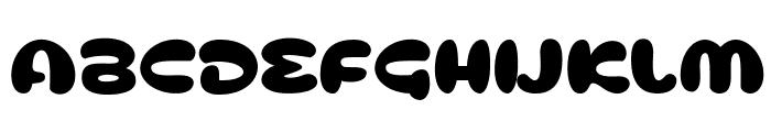 Cusco Font UPPERCASE