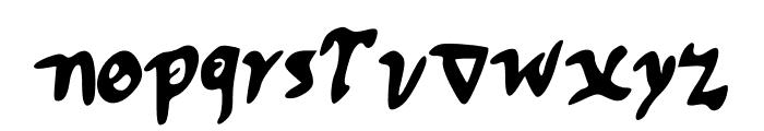CuspeP Font LOWERCASE
