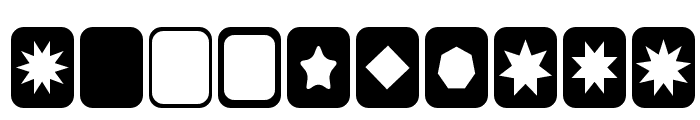 Cut Outs for 3D FX Font OTHER CHARS