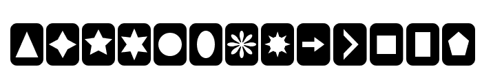 Cut Outs for 3D FX Font LOWERCASE