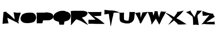 CutBlox Font UPPERCASE