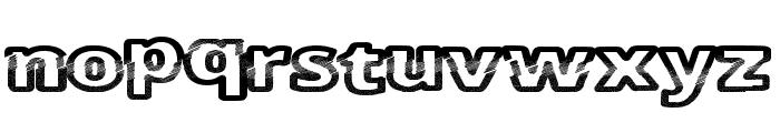 CutFive Font LOWERCASE