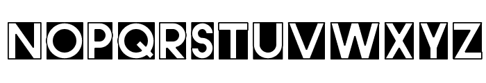 CutMeOut3 Font LOWERCASE