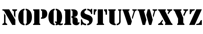 CutOutsFLF Font UPPERCASE