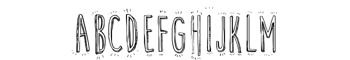 Cute Cartoon Font LOWERCASE