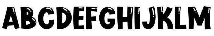 Cute Jellyfish Font UPPERCASE