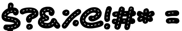 Cute Stitch Font OTHER CHARS