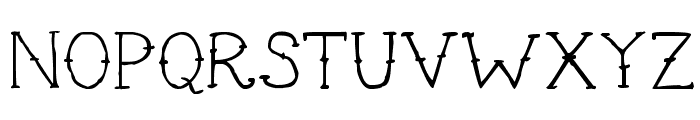 Cute Tattoo Font UPPERCASE