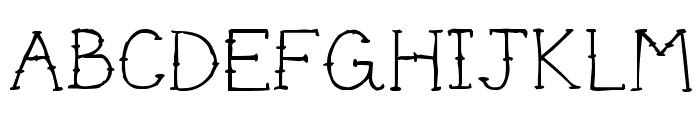 Cute Tattoo Font LOWERCASE