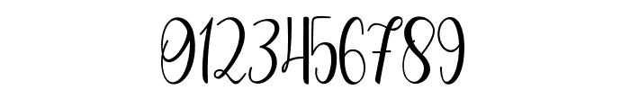 Cute Thing Script (Demo) Font OTHER CHARS
