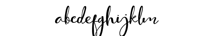 Cute Thing Script (Demo) Font LOWERCASE