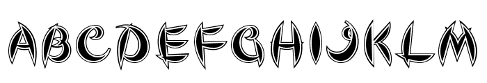 Cute Font UPPERCASE